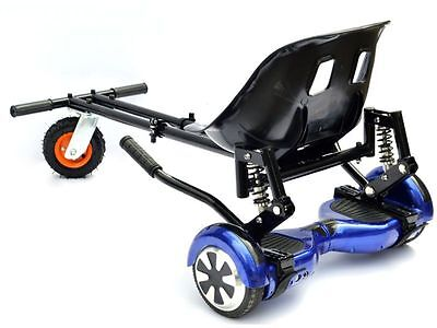 "Monster Hoverkart Go Kart Adjustable For Hoverboard Fits all 6.5"", 8"" and 10"""