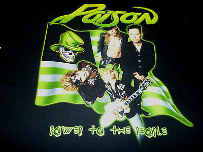 Poison 2000 Tour Shirt ( Used Size XL ) Very Nice Condition!!!