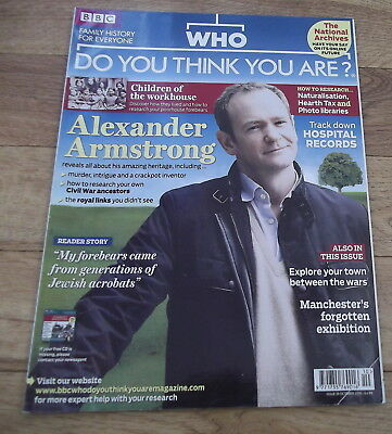 BBC WHO DO YOU THINK YOU ARE? Magazine Issue 39 Oct 2010 Alexander Armstrong