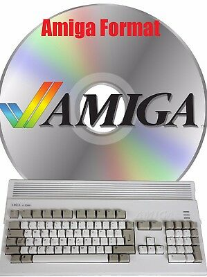 AMIGA FORMAT COMPLETE Magazine Collection on DVD - 6 Disc Set With Extras