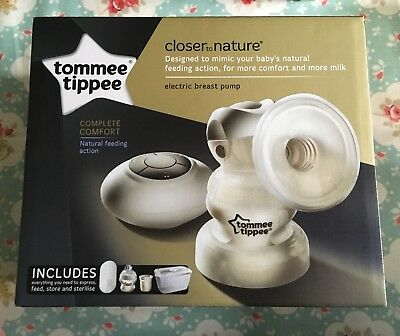 Tommee Tippee Electric Breast Pump & Extras