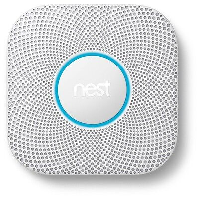 Nest Protect 2nd Generation Smoke + Carbon Monoxide Alarm Wired - S3003LWGB