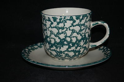 Tienshan Apple Cup and Saucer