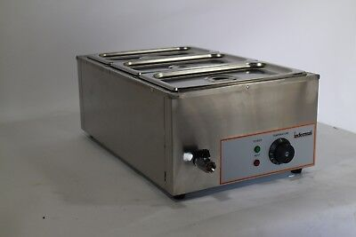 Infernus Wet Bain Marie Donner Gravy Sauce Food Commercial 1.5Kw Electric Warmer