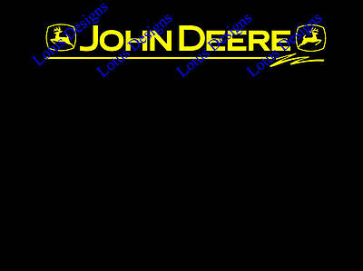 john deere window stickers / decals