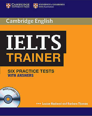 IELTS Trainer Six Practice Tests with Answers and Audio CDs by Louise Hashem new