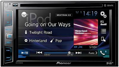 Pioneer AVH-X490DAB Car Stereo With Bluetooth Double DIN DAB USB CD Player