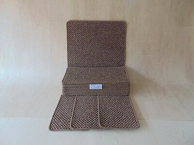 Open Plan Stair Pads treads 50 cm x 23 cm 16 off and a Mat 1 m x 50 cm 2505-1