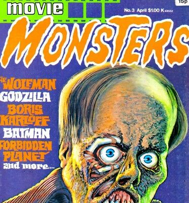 Monster Movies Magazines on DVD