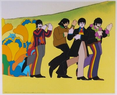 The Beatles: Line Up Limited Edition Sericel