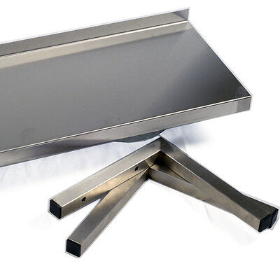 Stainless Steel Microwave Shelf - Commercial  - 550 w x 450 d (400 500)