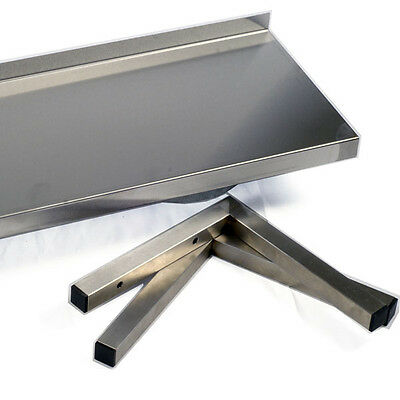 Stainless Steel Shelf Brackets 300mm Commercial Kitchen - Discount for multiples