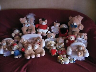 Andrew Brownsword Forever Friends Rare Collection of Bears, Tins and Figurines.