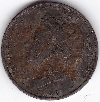 1826 Type 2 George IV Farthing***Collectors***