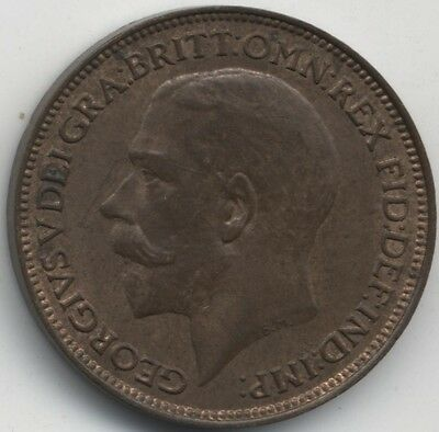 1924 George V Farthing***Collectors***High Grade***