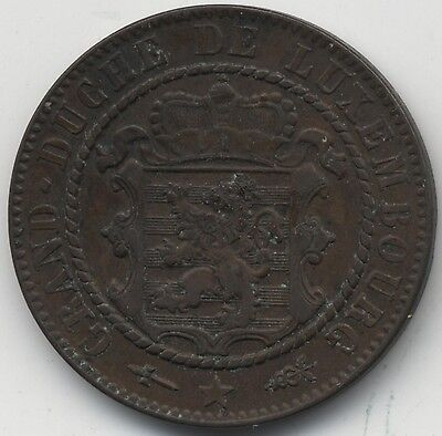 1870 Luxembourg 10 Centimes***Collectors***