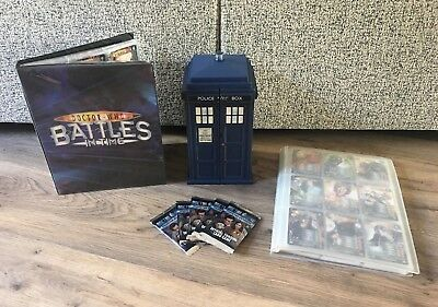 Large Doctor Who Card, Tardis & Folder Bundle- Includes 800+ Cards (No Doubles)