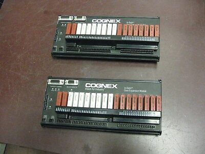 Lot (2) COGNEX In-Sight Opto-Expansion 1460 I/O Module 800-5815-1 B