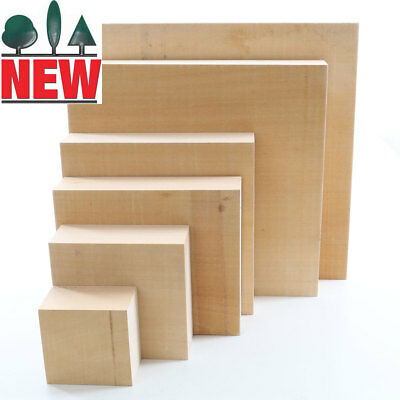 Lime Carving Blank, 54mm thick, Sawn, Square