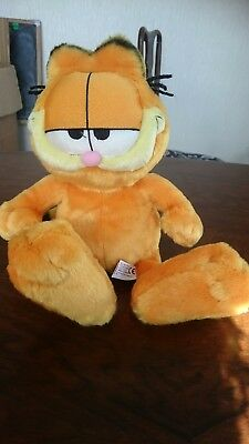 """Official Garfield soft toy, cuddly, plush, 14"""""""