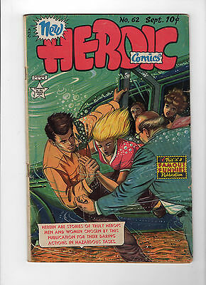 New Heroic Comics #62 (Sep 1950, Eastern Color) - Good