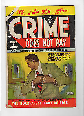 Crime Does Not Pay #87 (May 1950, Lev Gleason) - Good-