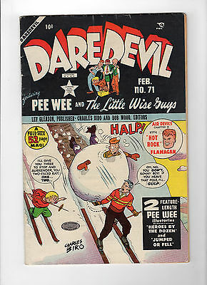 Daredevil Comics #71 (Feb 1951, Lev Gleason) - Good+