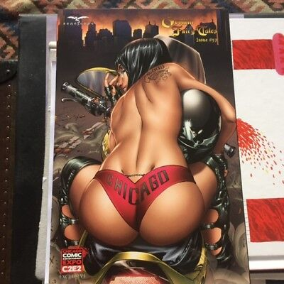 Grimm Fairy Tales #57 Zenescope Chicago C2E2 Lim to 500 Nice Girl EBAS Cover NM