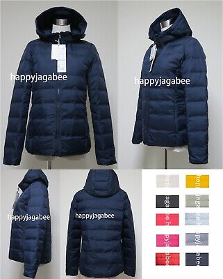 fcd5482b01f8c 2017 A W UNIQLO Women Ultra Light Down Seamless Parka Hoodie 6 Colors New