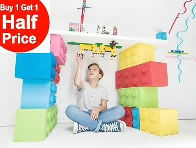 Buy 1 Get 1 50% Off! Zuru MAYKA Toy Brick Block Tape 2 Stud Wide x 6.5 Feet Long