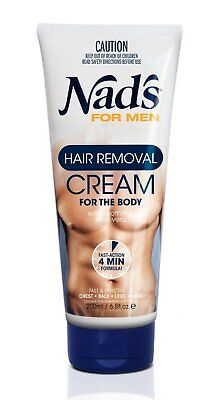 Nad's For Men Hair Removal Cream - 200 ml **FREE DELIVERY**
