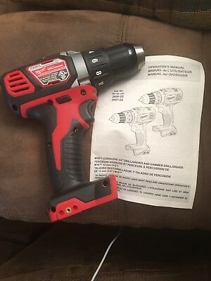 "New Milwaukee M18 2606-20   1/2"" Compact  Drill/Driver"