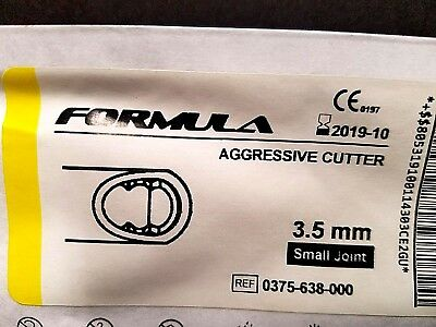Stryker 375-638-000 Aggressive Cutter 3.5 mm small joint / Qty-1 Dated 10/2019