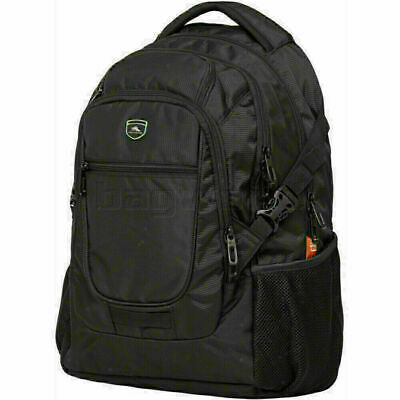"High Sierra Harvard 15.6"" Laptop & Tablet Backpack Black 92730"