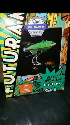 Futurama Planet Express Ship Model QMX Mini Masters Loot Crate NEW Boxed Mint