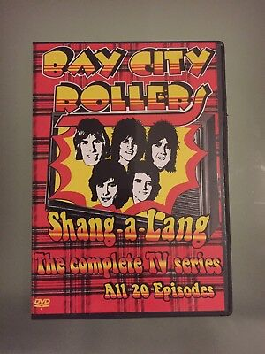 Bay City Rollers DVD Complete TV Series Shang-A-Lang 1975 - 20 Episodes 2 Discs