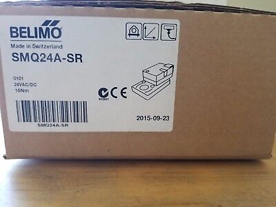 ** New in the box** Belimo SMQ24A-SR Modulating Damper Actuator 16 Nm, 24VAC/DC