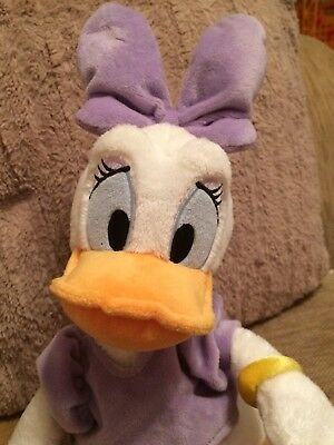 "Disney Store Authentic Official Daisy Duck Soft Toy Plush 19"" VGC"