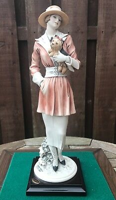 """Capodimonte Florence Giuseppe Armani Figure """"chilly""""  -  Limited Ed, Perfect!"""