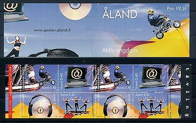 [58615] Aland 1998 Youth activities Booklet MNH