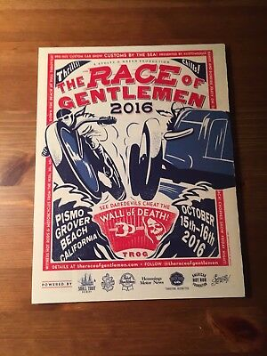 The Race  of Gentlemen 2016 Magazine Add