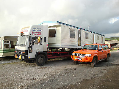 Mobile Static Caravan Transportation And Removal