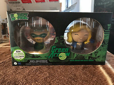 Funko Dorbz Green Arrow and Black Canary Two Pack ECCC