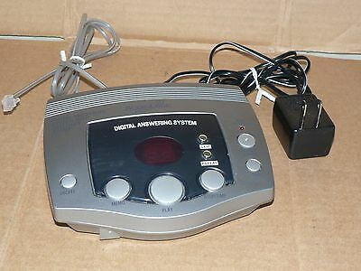 Used AUDIOLOGIC digital answering system messaging telephone machine working