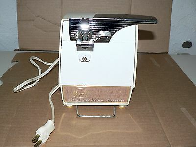 Used Vintage RIVAL Electric Can Opener Sharpener Model 752 Working
