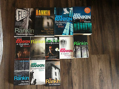 Ian Rankin Misc Books Lot Of 12