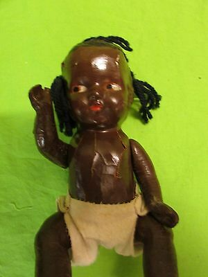 Vintage Bisque African American Doll L-12