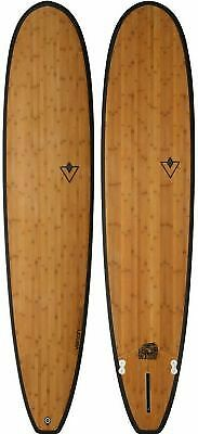 Longboard Venon Woodie Bamboo Carbon 9'3""