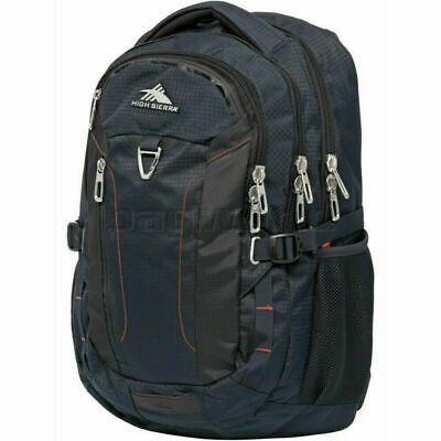 "High Sierra Tephra 17"" Laptop & Tablet Backpack Midnight Blue 70506"