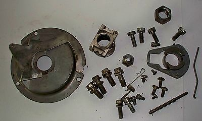 Lawnboy engine bolts ,governor parts ,points cover for D series engine
